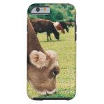 Pasto de la vaca del jersey funda de iPhone 6 tough