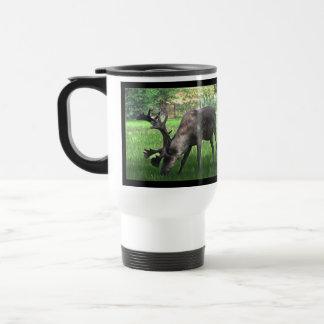 Pasto del caribú taza de viaje