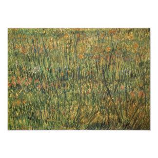 Pasto en la floración de Vincent van Gogh Invitación 12,7 X 17,8 Cm
