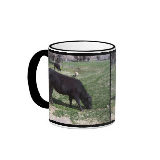 Pasto en mayo tazas de café