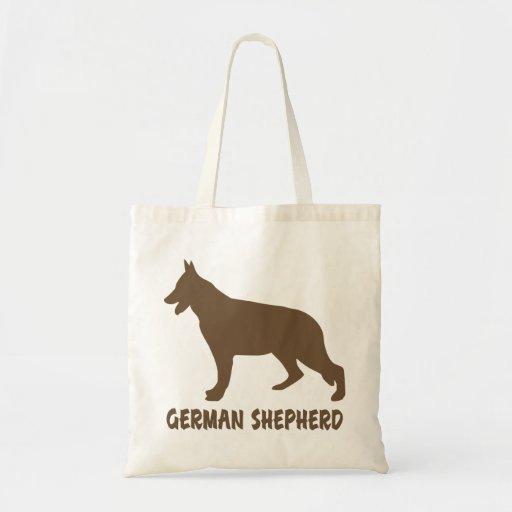 Pastor alemán bolsa tela barata