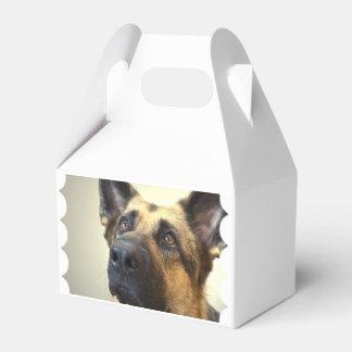 Pastor alemán caja para regalos