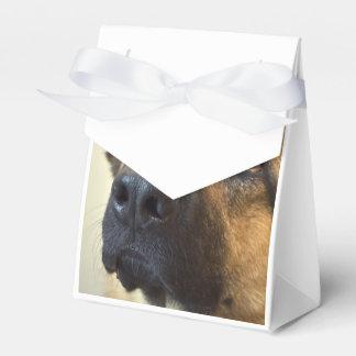 Pastor alemán cajas para regalos