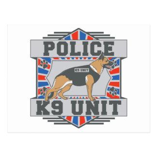 Pastor alemán de la policía de la unidad K9 Postales