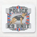 Pastor alemán de la policía de la unidad K9 Tapetes De Ratones