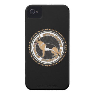 Pastor alemán Case-Mate iPhone 4 carcasas