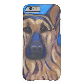 Pastor alemán funda para iPhone 6 barely there