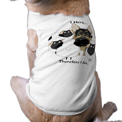 Pastor alemán - manada de I… Camisetas Mascota