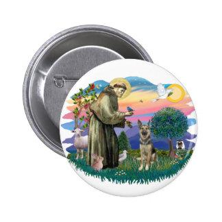 Pastor alemán (p) pins