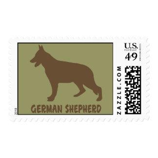 Pastor alemán sellos