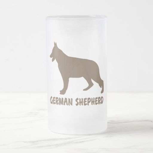 Pastor alemán taza de café