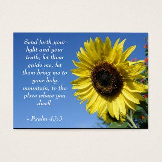 Pastor and Preacher Prayer Business Card