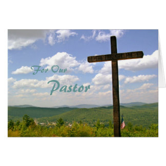 Pastor Appreciation Scripture Card