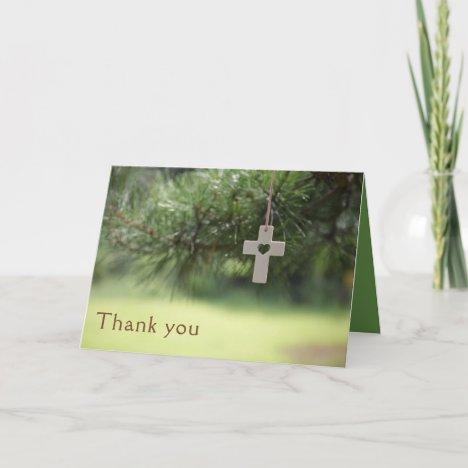 Pastor Appreciation Thank You Card
