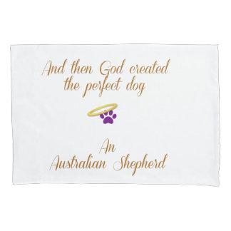 Pastor australiano funda de cojín