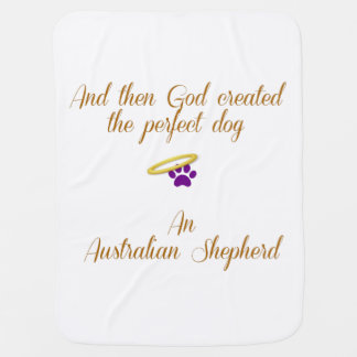 Pastor australiano mantitas para bebé