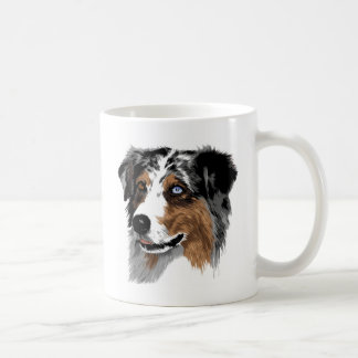 Pastor australiano taza de café