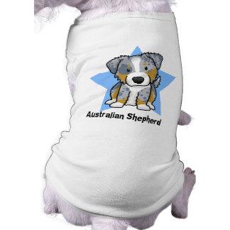 Pastor azul del australiano de Merle de la estrell Camisa De Perro