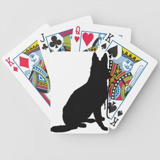 Pastor con el correo cartas de juego