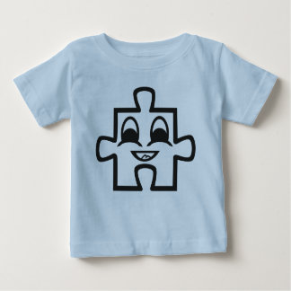 pastor de bebé de puzle playera para bebé