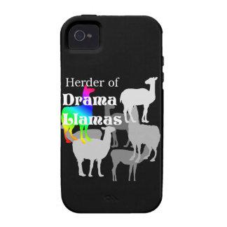 Pastor de la llama del drama Case-Mate iPhone 4 carcasa