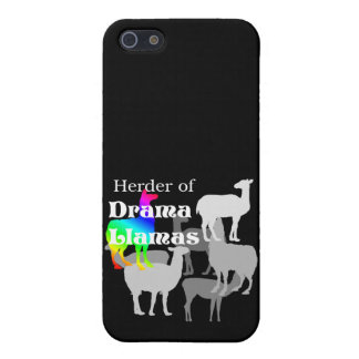 Pastor de la llama del drama iPhone 5 protector