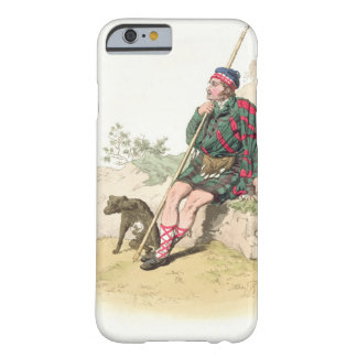 Pastor de la montaña, del 'traje de Great Britain Funda Para iPhone 6 Barely There