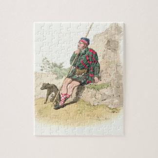 Pastor de la montaña, del 'traje de Great Britain Rompecabezas