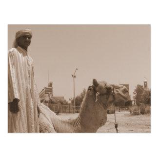 Pastor del camello postales