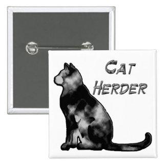 Pastor del gato pin cuadrado