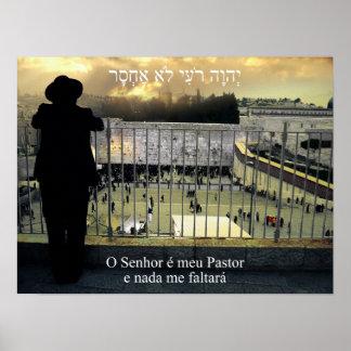 Pastor e Nada de Meu del é de O Senhor yo Faltará  Póster