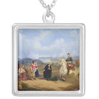 Pastor Ernst Glueck introduces Marta Silver Plated Necklace