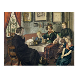 Pastor Johann Wilhelm Rautenberg and his Postcard