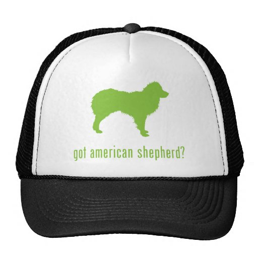Pastor norteamericano gorras