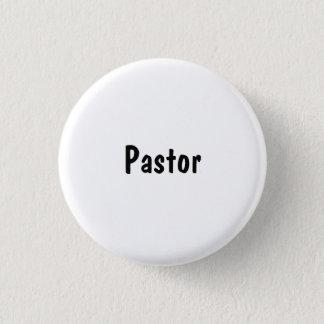 Pastor Pinback Button