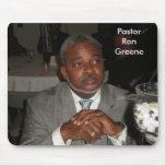 Pastor Ron Greene Alfombrilla De Ratón