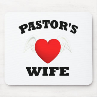 Pastor s Wife Mousepads