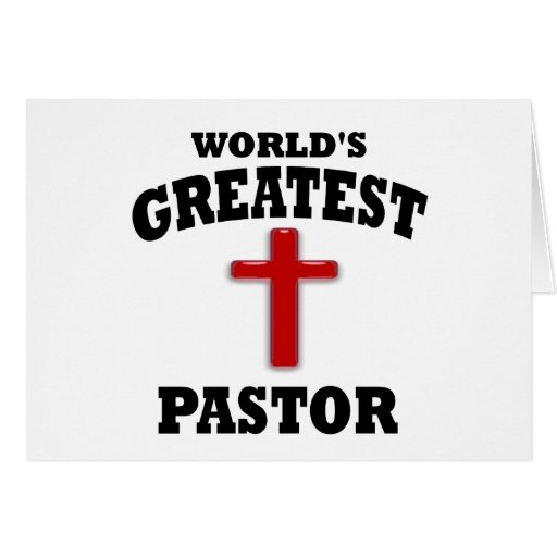 Pastor Tarjeta