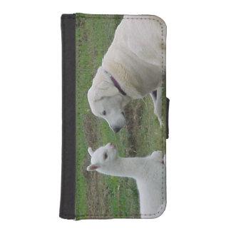 Pastor y alpaca de Anatolia Cria Fundas Tipo Billetera Para iPhone 5
