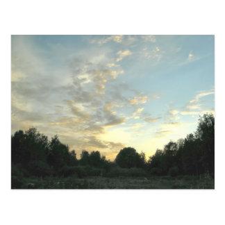 Pastoral idyl postcard