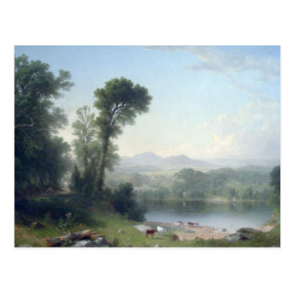 Pastoral Landscape by Asher Brown Durand Postcard