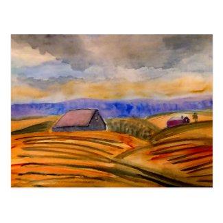 Pastoral Landscape Postcard