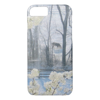 Pastoral Nature Scenery in Winter iPhone 8/7 Case