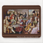 Pastoral Scene By Ponte Jacopo Da (Best Quality) Mouse Pad