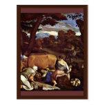 Pastoral Scene By Ponte Jacopo Da (Best Quality) Postcard