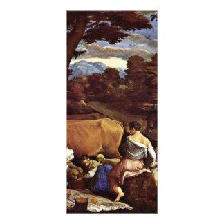 Pastoral Scene By Ponte Jacopo Da (Best Quality) Personalized Rack Card