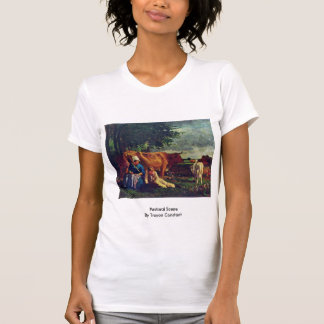 Pastoral Scene By Troyon Constant Shirt
