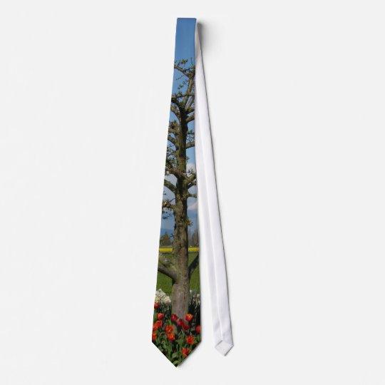 Pastoral Scene Neck Tie
