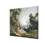 Pastoral Scene, or Young Shepherd in a Landscape Canvas Prints