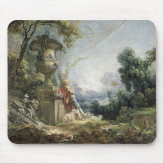 Pastoral Scene, or Young Shepherd in a Landscape Mouse Pad